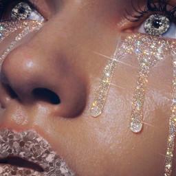 freetoedit glitter tears srcglitterbrushstroke glitterbrushstroke