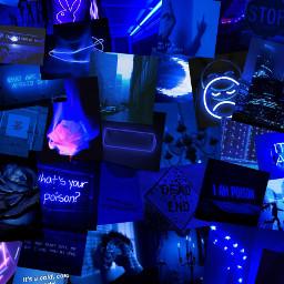 freetoedit darkblueaesthetic blueaesthetic