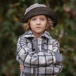 boy fashion model hat curlyhair