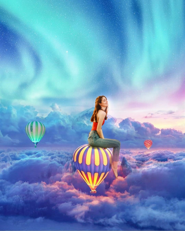 #freetoedit #editing #picsart #instagram  #myedit #sky #diegoph #skyblue #globoaerostatico  #instagram  crystal_hearts7