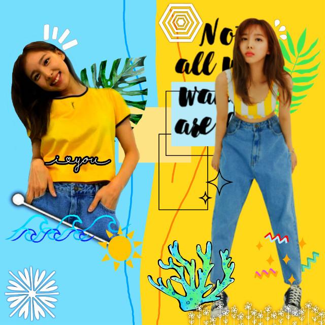 🐰NAYEONIE🐰 #twicenayeon #twice #nayeon #twiceblue #twiceyellow #yellow #blue