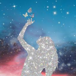 freetoedit glitter glittergalaxy glittery glitterbackground ircsunsetsilhouette sunsetsilhouette