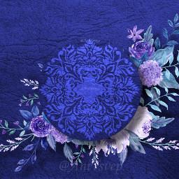 freetoedit ultramarine blue background backgrounds