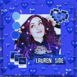 lauren laurenzside youtube purple heart freetoedit