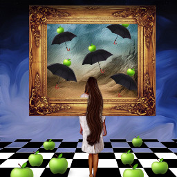 freetoedit apples fantasy art surrealism stickersfreetoedit