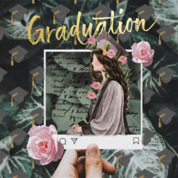 graduation love summer girl highschool freetoedit rcclassof2020 classof2020
