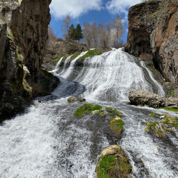 freetoedit armenia waterfall jermuk nofilter