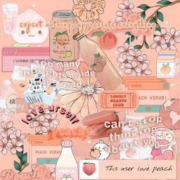 freetoedit peach peachy background backgroundsticker