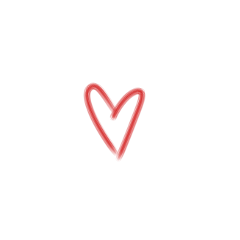 сердце сердечко мазок мазоксердце эможди freetoedit