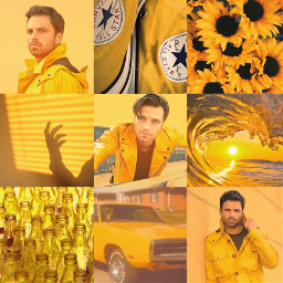 sebastianstan sebastianstanedit mcu marvel yellowaesthetic