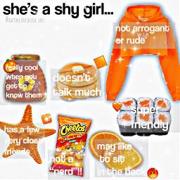 shygirl nichememe niche orangeaesthetic aesthetic freetoedit