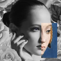 freetoedit rose girl