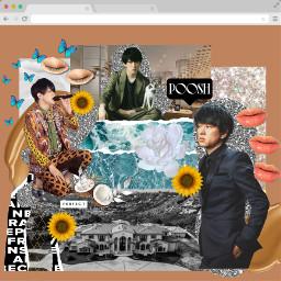 youyokoyama kanjanieight collageart poosh calabasas freetoedit