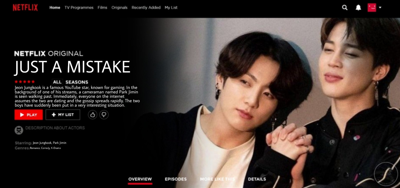 • J U S T   A   M I S T A K E •            - A Fanmade Netflix Series  ~  > zoom into picture to read description <  ~  - other accounts -   📖 fanfictions: @thewritingoutcast   🍻 memes: @that_one_ginger   💧 aesthetics: @again_and_again  📽 youtube: The Introvert Outcast  ~  #kpop #kpopedit #bts #btsedit #netflix #netflixedit #freetoedit