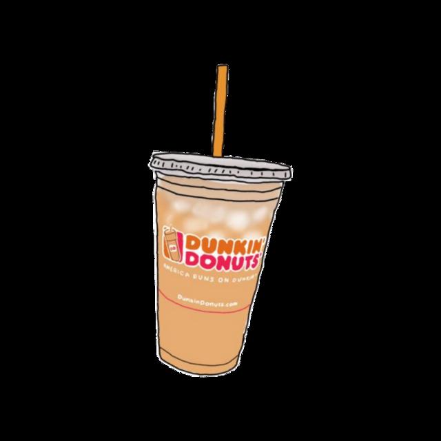 #overlay #cute #charlidamelio #dunkindonuts #dunkin #coffee #complex