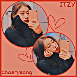 itzy chaeryeongitzy chaeryeong kpop br freetoedit