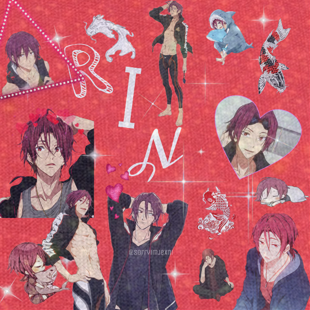 #freetoedit #rin #free! #anime #animeedit