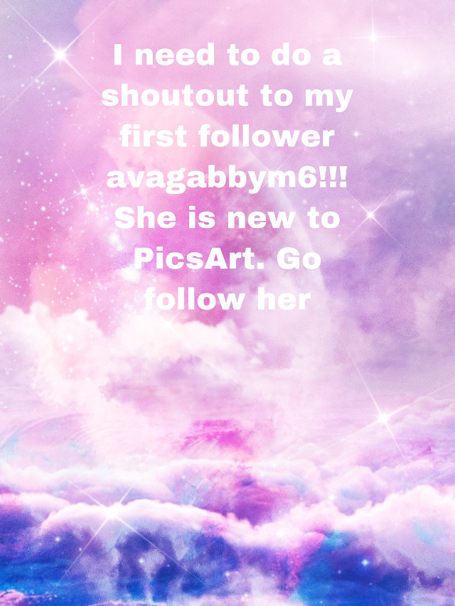 #freetoedit Shoutout to avagabbym6!!! Go follow her!!!!