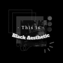 black blackandwhite aesthetic blackaesthetic fancy freetoedit