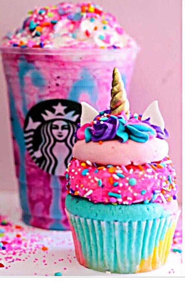 #freetoedit #unicornfrappucino double tap this pic if u want the unicorn frappicino back!!!