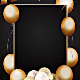 freetoedit celebrate frame balloons birthday