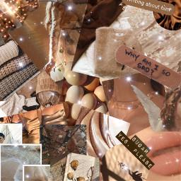 freetoedit brown asthetic nude wallpaper