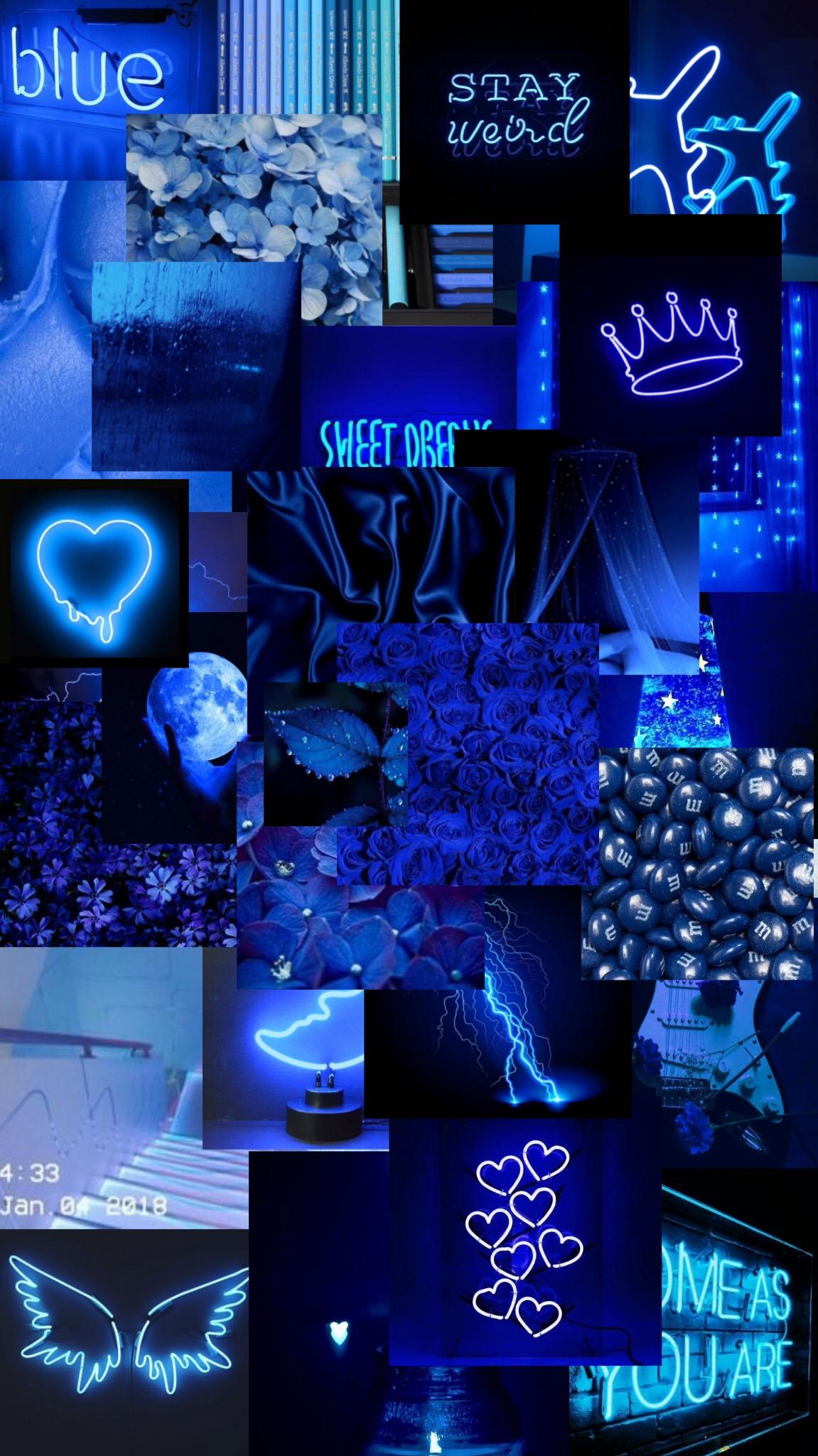 #wallpapers#edit#dark#blue#aesthetic#blackaesthetic# ...