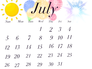 freetoedit julycalender july