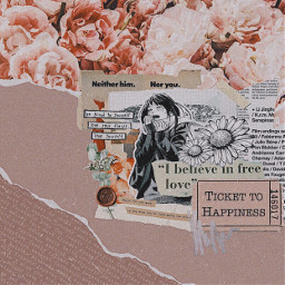 collage collages scrapbook vintage aesthetic