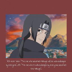 freetoedit itachi itachiuchiha quotes konoha