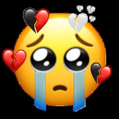 freetoedit brokenheart sad heart breakup