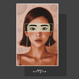girl faceart stayinspired createfromhome freetoedit ftestickers