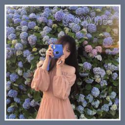 instagrammer おるちゃん かわいい 花畑
