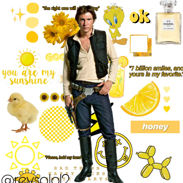 #freetoedit. Oo i like this one! #hansolo