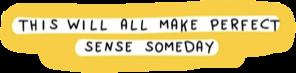 sticker quote yellow cutout aesthetic freetoedit