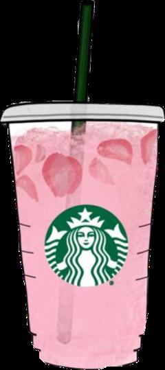 freetoedit starbucks drinks strawberries pinkdrink