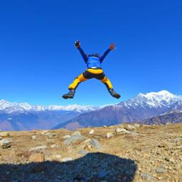 nepal mountain trek