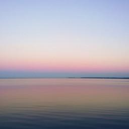 freetoedit evening sunset sky sea