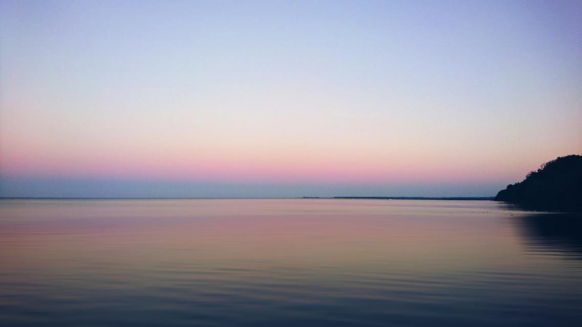 #freetoedit #evening #sunset #sky #sea #balticsea #silence #hope #myphoto #Poland