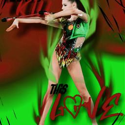 freetoedit dariasergaeva rhythmicgymnastics gymnastics gymnasticgirl