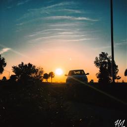 freetoedit nature sunset sky sun