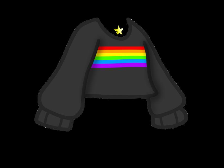 #freetoedit #gacha #gachalife #gachalifeedit #cool #aesthetic #clothes #black #raimbow #cute #shirt