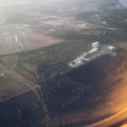 farm city illinois viewfromabove plane sky morning freetoedit