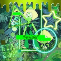 freetoedit peridot green peridotsu aliens