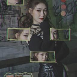 itzy chaeryeong kpopidol kpopedit