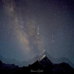 mountamadablam everestbasecamp trekking nepal nightshot