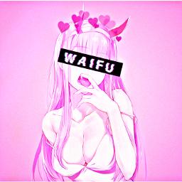 zerotwo 002 darlinginthefranxx anime waifu freetoedit