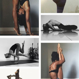 freetoedit collage yogaposes ccfitsart fitsart