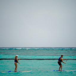 travel traveling paddleboard ocean people freetoedit