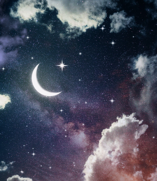 #freetoedit #skybackgrounds #cloudsandsky #nught #starrysky #moon #prismeffect
